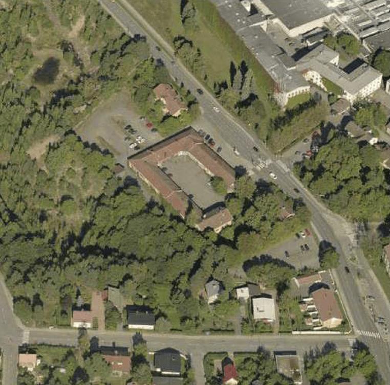 Amalienborgs Bryggerin tontit.