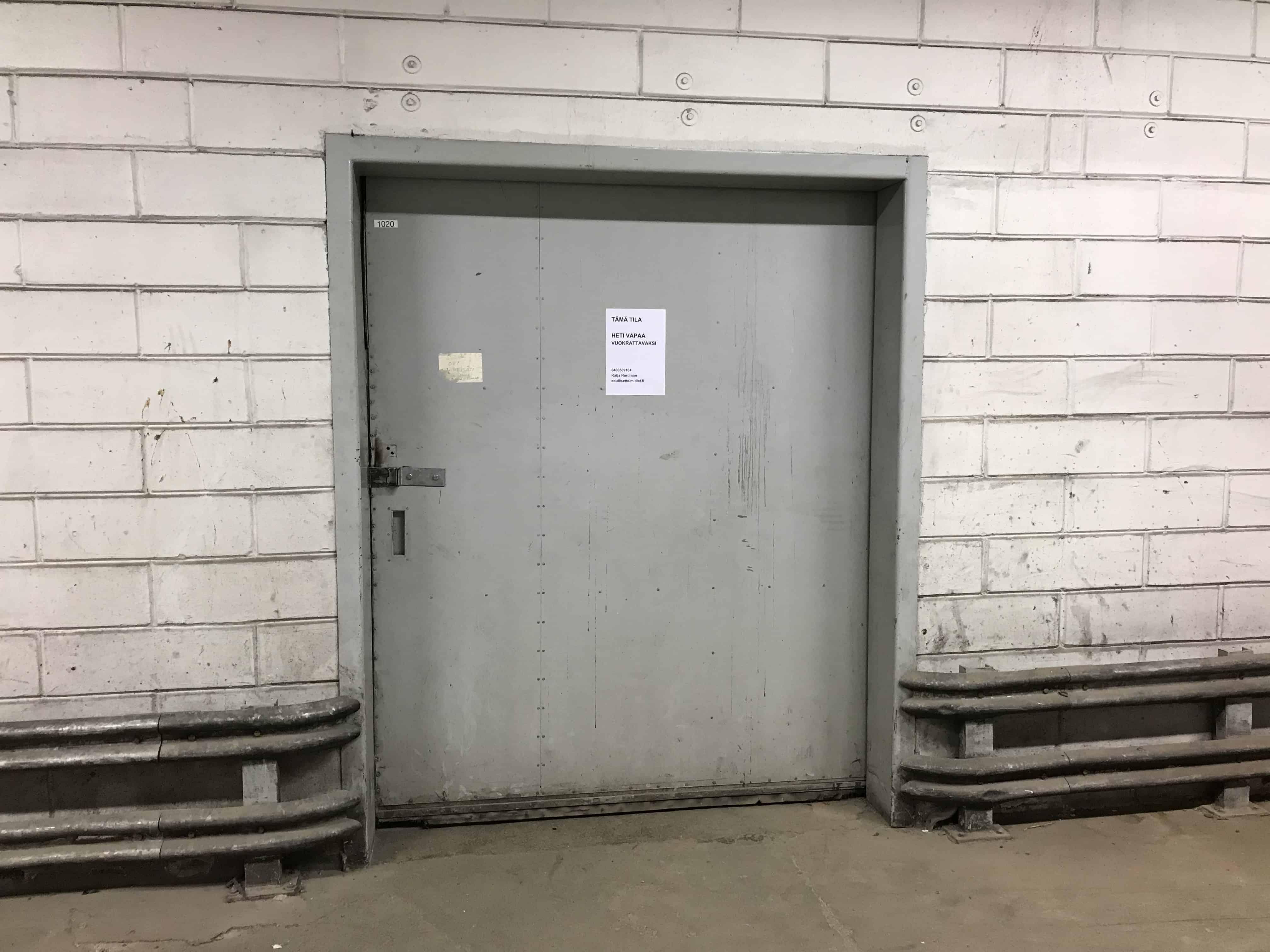 Lämmin maantason varastotila 70m2